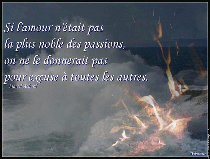 L Amour Comme Excuse